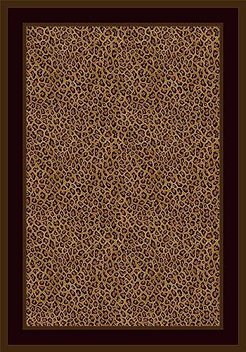 Milliken Innovation Zimbala Leopard Print Rug Rug Size  7'8″ x 10'9″