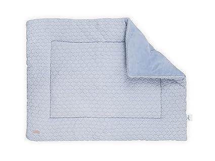 Colcha Jollein Playpen 80x100 cm Fancy Knit Baby Blue - Colcha para ...