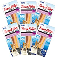 INABA Grilled Tuna Fillet in Tuna Broth 6 Packs, 15 Grams
