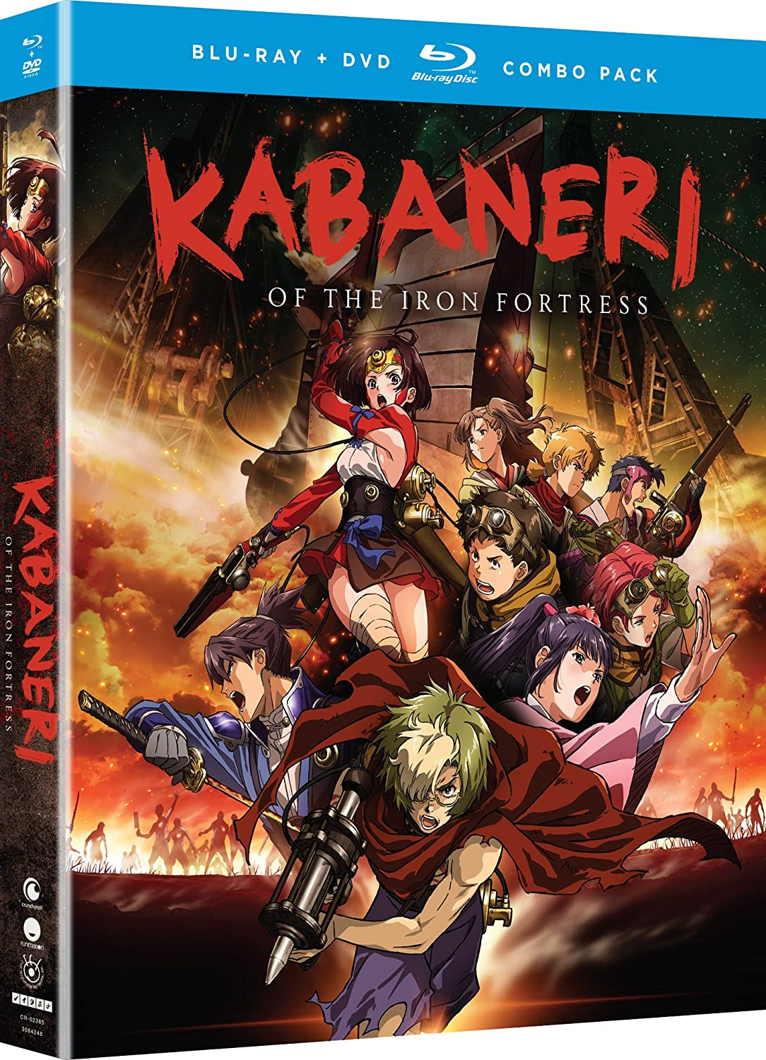 Kabaneri of the Iron Fortress - Season One [Blu-ray] Janice Kawaye Robbie Daymond Chris Niosi Colleen O' Shaughnessey