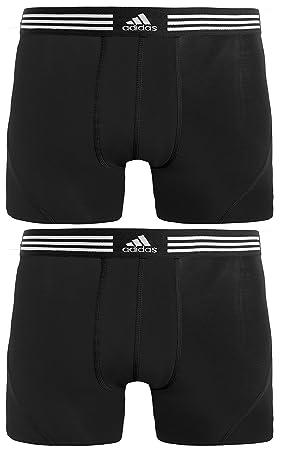 679402c2898e adidas Men s Athletic Stretch Cotton Trunk Underwear (2-Pack ...