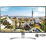 "LG 32UD99 Monitor da 32"" 4K UltraHD LED IPS HDR 10, 3840 x 2160, AMD FreeSync, Multitasking, Display Port, 2 HDMI, USB-C, Altezza, Inclinazione e Rotazione Regolabili"