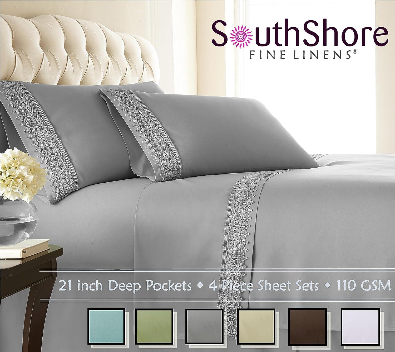 100 beautiful bed sheet sets delboutree charcoal gray turqu