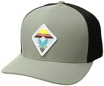 Hurley Surfin Bird Trucker Gorra, Hombre, Gris (Grey), Talla Única