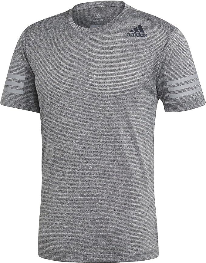 adidas Herren Freelift Climacool T Shirt, Grau, 2XL: Amazon
