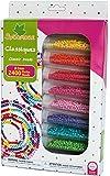 Sycomore CRE3260 - Loisirs Créatifs - Perles Rocaille - 2600 Perles - 8 Couleurs - CRE3260