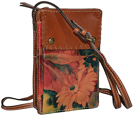 Amazon.com  Patricia Nash Marinella Organizer Bag Crossbody Shoulder ... a3efc9a9c4