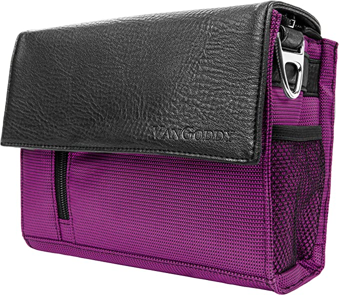 Magenta Travel Carrying Case Camcorder Bag for Canon VIXA HF R80 R800 R82 G20 R70 R700 R72 Mini X