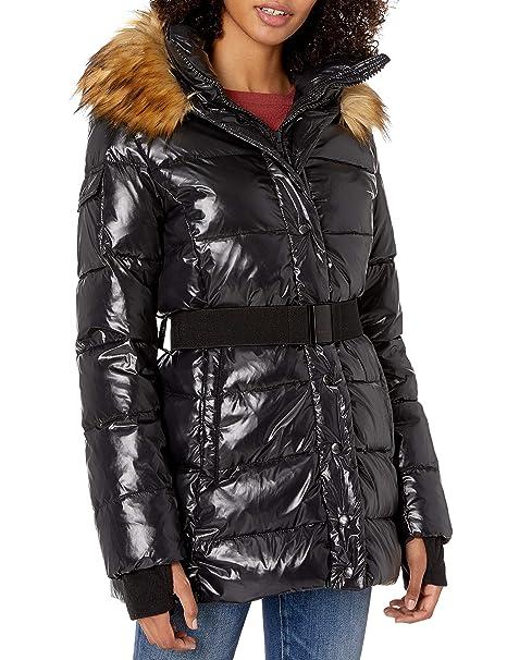 Amazon.com: S13 - Abrigo para mujer con traje de plumón y ...