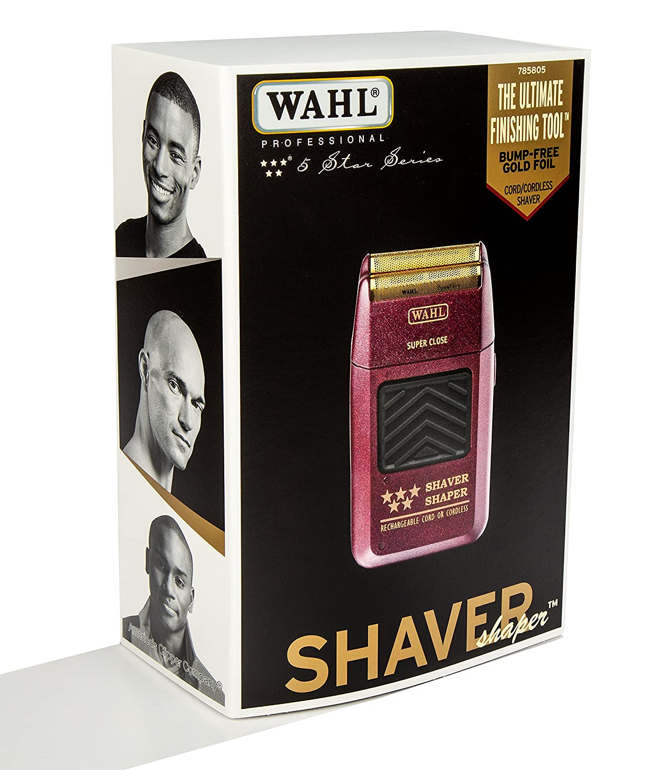 Wahl Professional 5 Star Series Rechargeable Shaver Electrical Wall Outlet Wiring Newhairstylesformen2014com Shaper 8061 100 Up To 60 Minutes Of Run Time Bump Free Ultra Close Shave Beauty