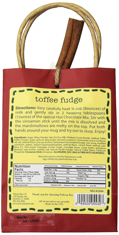 amazon com pelican bay chocolate mix toffee fudge 8 ounce