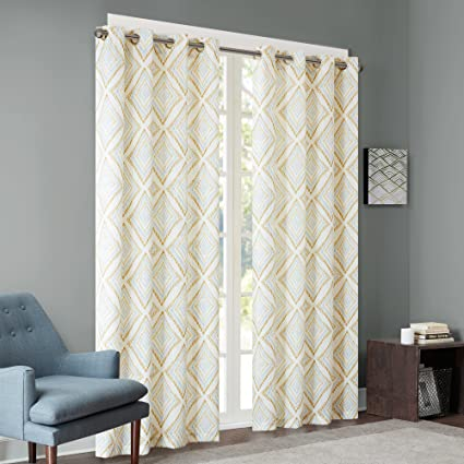 Amazon.com: Ink+Ivy Yellow Curtains for Living Room, Modern ... on yellow drapes sets, yellow window curtains, light yellow curtains in bedroom, curtain ideas for bedroom, yellow curtains painting, yellow silk curtains, navy blue yellow and gray bedroom, yellow bedroom curtain ideas, vertical blinds for bedroom, yellow furniture for bedroom, yellow drapes and curtains, yellow trash can for bedroom, yellow and grey master bedroom, wood floor for bedroom, pastel yellow bedroom, bright yellow curtains bedroom, yellow rugs for bedroom, curtain designs for bedroom, yellow paint for bedroom, yellow valances for bedroom windows,