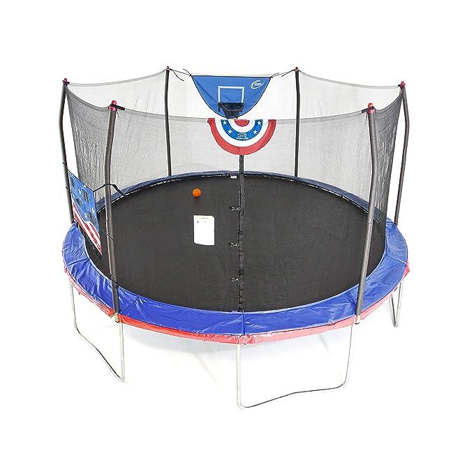 Skywalker Trampolines 15-Feet Jump N aro de Baloncesto Dunk ...