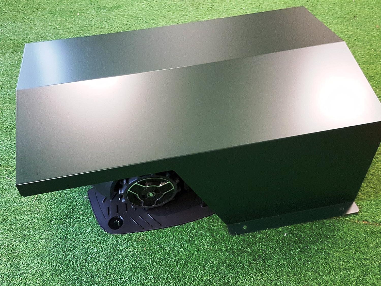 CODI Caseta/Garaje Robot cortacésped, Mod 700 Aluminio. Válido par ...