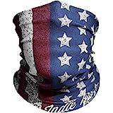"American Flag Outdoor Motorcycle Mask ""Old Glory"" By Indie Ridge - Ski Snowboard Mask Microfiber Multifunctional…"