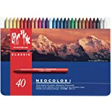 Caran d'Ache Neocolor Wax Oil Crayons (Pack of 40)