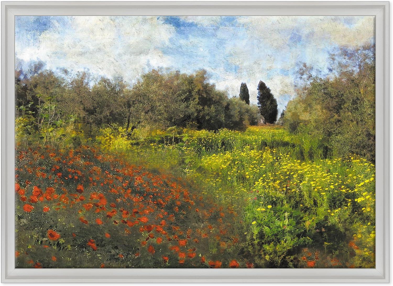 Cuadro en tela con bastidor, listo para colgar. Claude Monet (Impresionismo), arte moderno