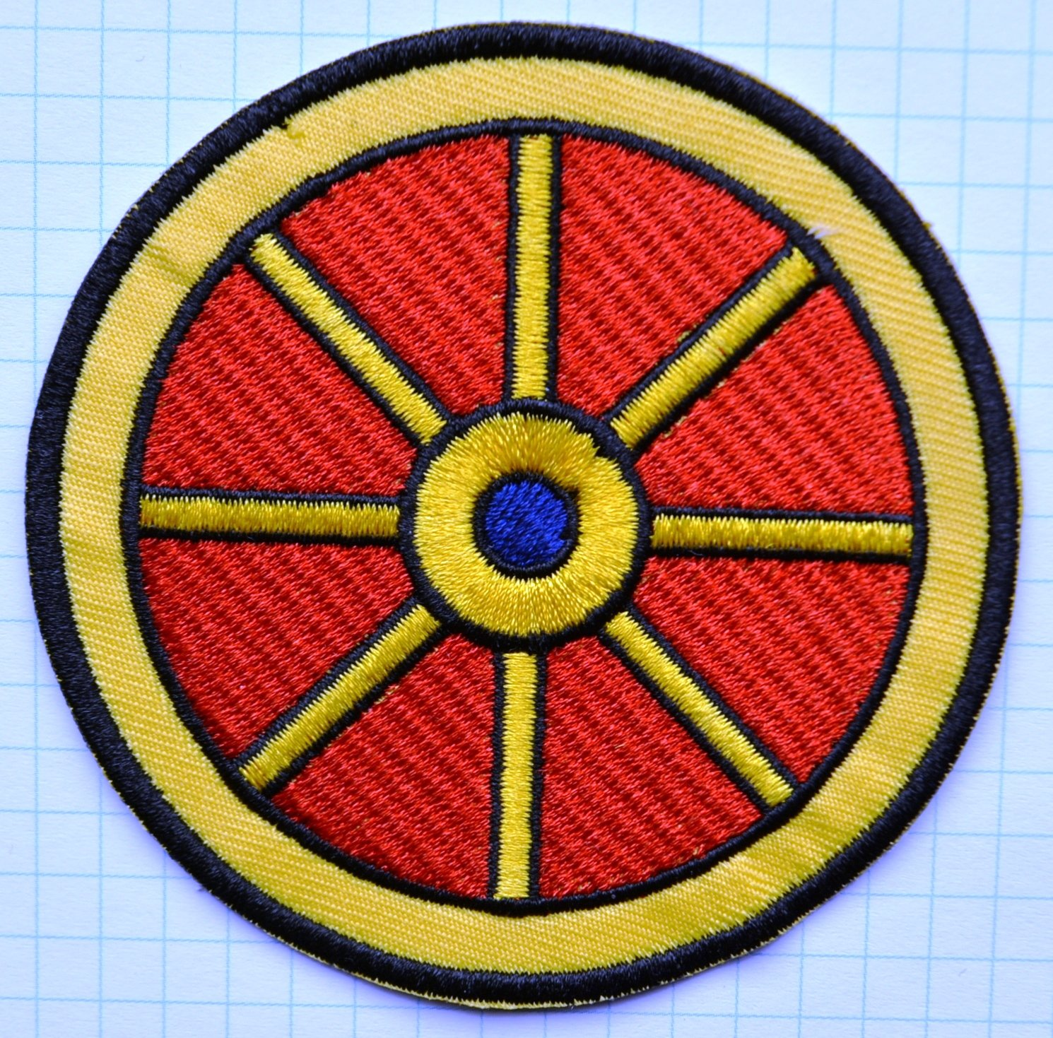 Embroidered Cloth Iron On Patch