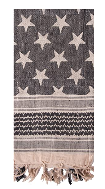 Mato /& Hash Stars and Stripes Military Shemagh Tactical 100/% Cotton Scarf