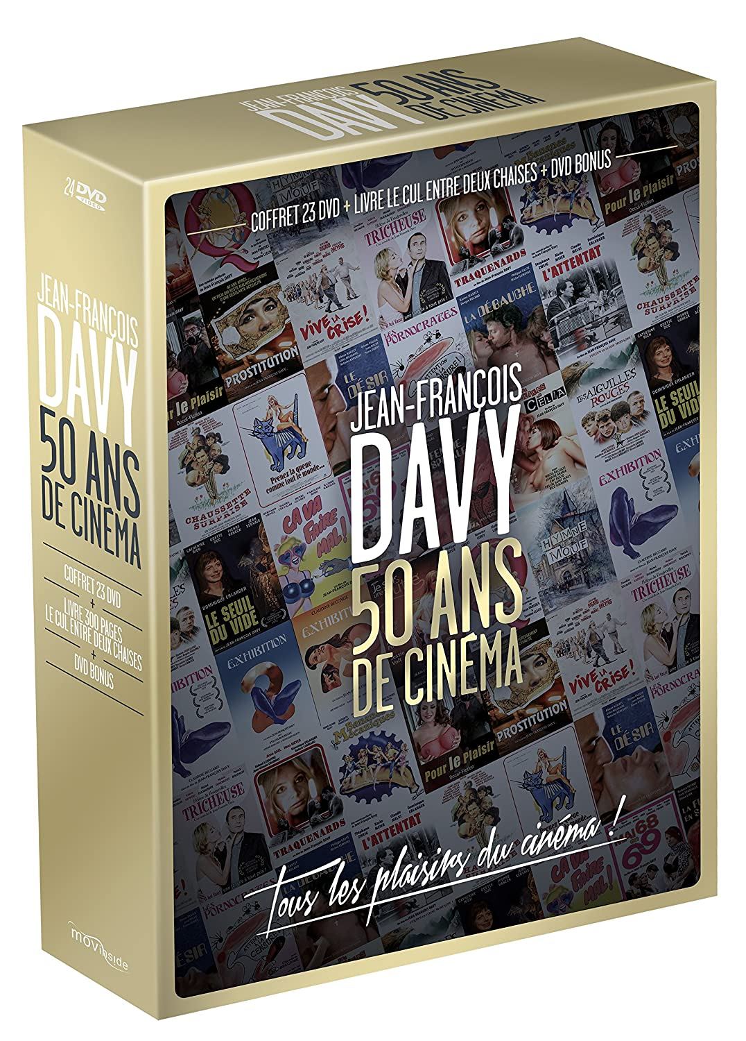 Amazon Com Jean Francois Davy 50 Ans De Cinema Edition