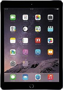 Apple iPad Air 2 16GB WiFi 2GB iOS 10 9.7in Tablet - Space Gray (Renewed)