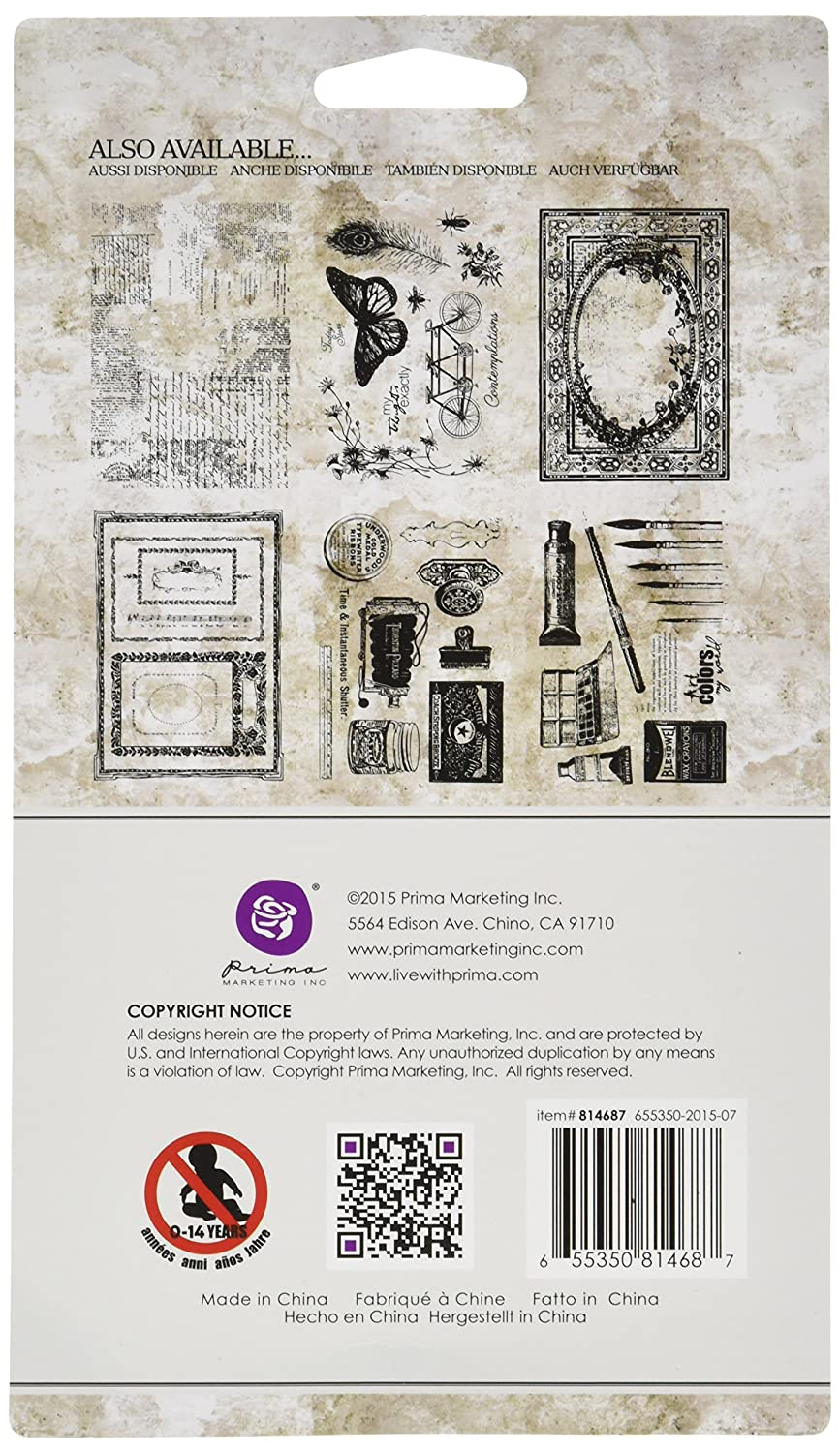 "Iron Orchid Designs Decor Clear Stamps 12/""X12/""-Sweet Sprigs"