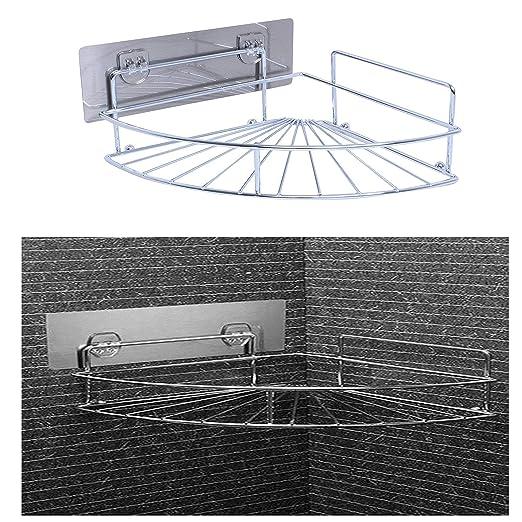 Amazon.com: Estantería esquinera de ducha: Home & Kitchen
