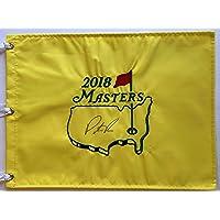 $139 » Patrick Reed signed 2018 Masters golf flag augusta national pga