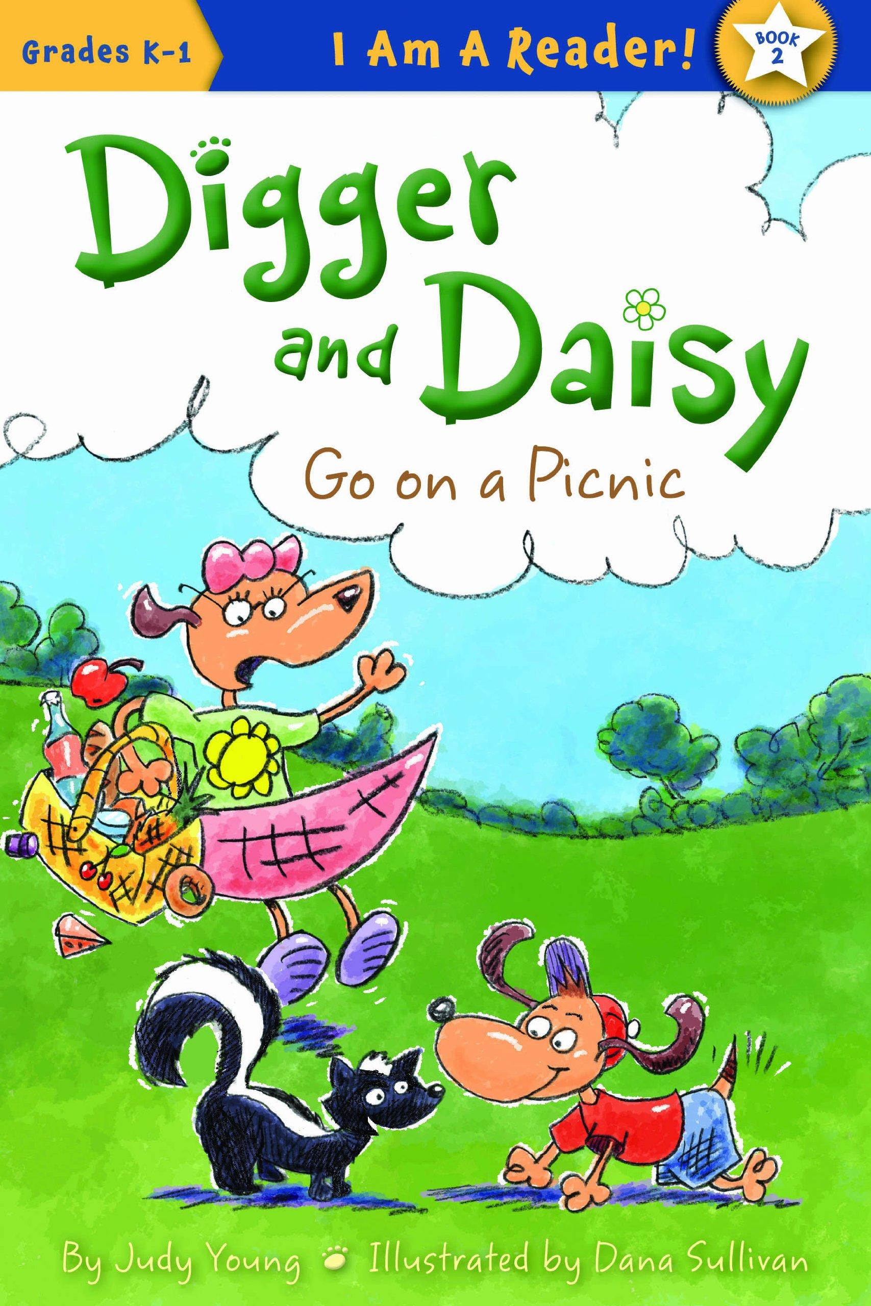 Digger Daisy Go Picnic Reader product image