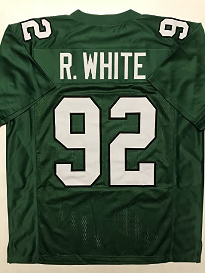 44f76197a Unsigned Reggie White Philadelphia Kelly Green Custom Stitched Football  Jersey Size Men s XL New No Brands