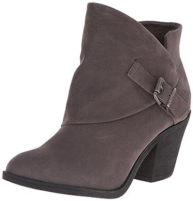 Blowfish Women's Suba Ankle Bootie, Grey Fawn Polyurethane, ...