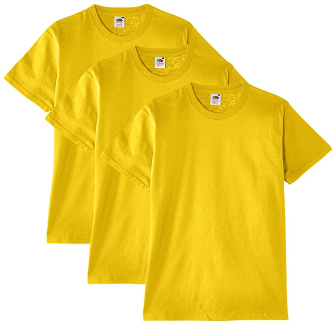 261361522 Fruit of the Loom Heavy Cotton Tee Shirt 3 Pack