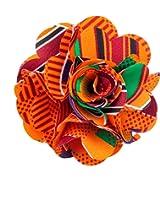 Men's Kente Lapel Flower Pin