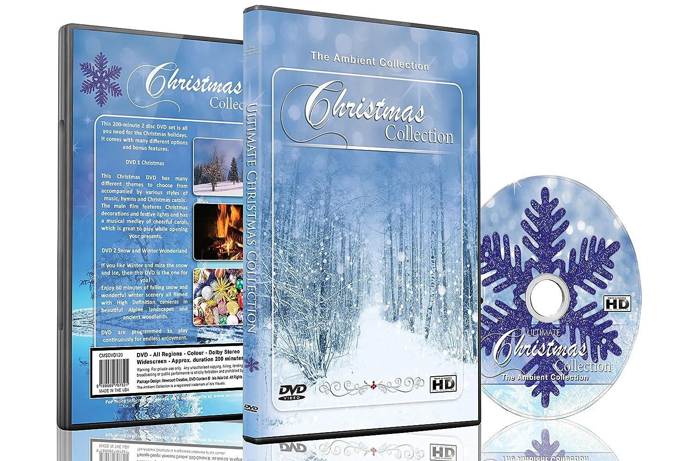 amazon com christmas dvd christmas collection videos of falling