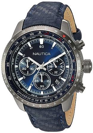 Nautica NAPP39002 - Reloj de Pulsera Hombre, Color Azul: Amazon.es: Relojes
