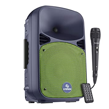 Steren BAF-0820BT Portátil Inalámbrico sistema de - Karaoke (90 W, Giratorio,