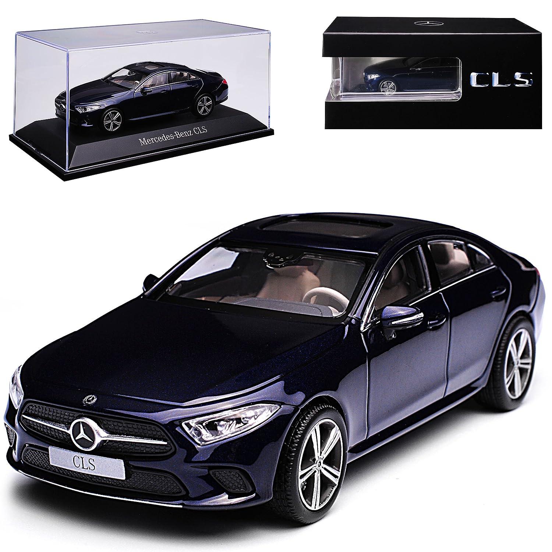 alles-meine GmbH Mercedes-Benz CLS C257 Coupe Limousine Cavansit Blau Metallic Ab 2018 1/43 Norev Modell Auto mit individiuellem Wunschkennzeichen Norev Mercedes-Benz CLS C257 Modellcarsonline alles-meine.de GmbH