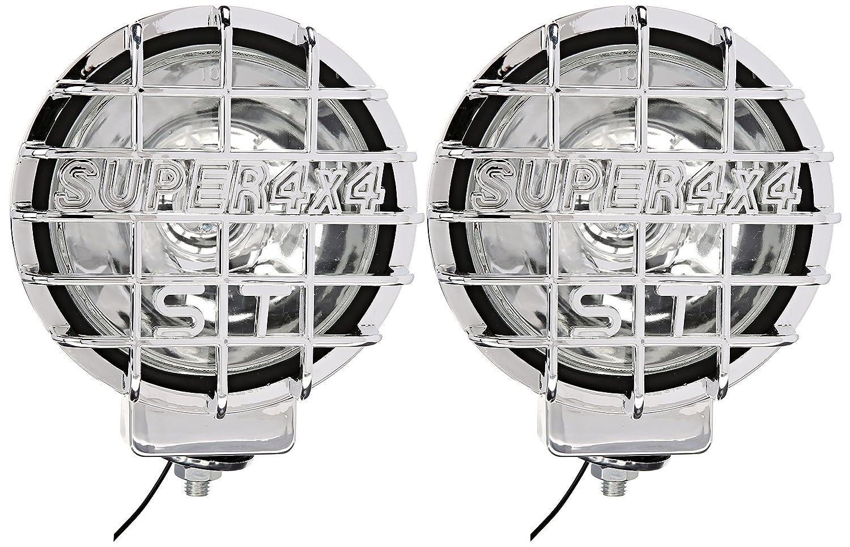 Spec-D Tuning LF-6022CRNDCR Chrome Fog Light
