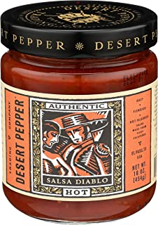 product image for Desert Pepper Trading Company, Salsa Diablo, Hot, 16-Ounce