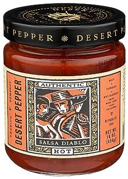 Desert Pepper Trading Company Hot Diablo Salsa
