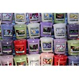 Yankee Candle FLORAL Votive Samplers x10 MIXED