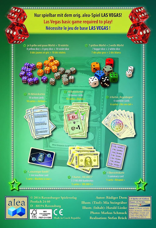 Alea Ravensburger) 26996 - Las Vegas Boulevard, Juego de Dados [Alemán]: Amazon.es: Juguetes y juegos