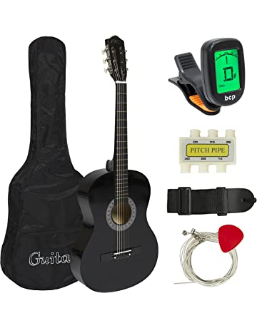 5b9b2a6b074 Best Choice Products 38in Beginner Acoustic Guitar Starter Kit w/ Case,  Strap, Digital