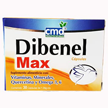 Amazon.com: Dibenel Max-Suplement-Omega 3, 6 and 9, Vitamins ...