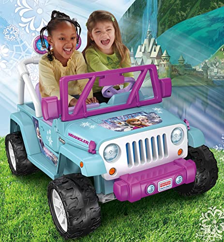 Fisher-Price Disney Frozen Jeep Wrangler Ride On