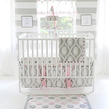 My Baby Sam Olivia rosa 3 piezas para cuna juego de cama ...