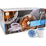 Day To Day Coffee 120 Count Breakfast Blend Single Serve Coffee Cups, Coffee K cups for Keurig, Box of 120 Count…
