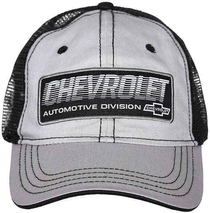 c3c354799 H3 Headwear Chevrolet Automotive Division Gray & Black Adjustable Ball Cap