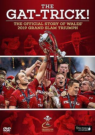 Amazon com: The Gat-Trick! Wales Grand Slam Glory 2019 [DVD