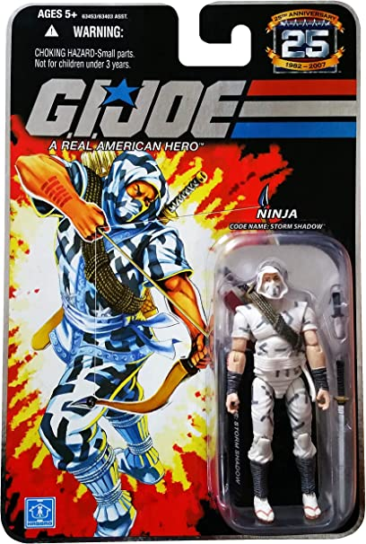 Amazon.com: G.I. Joe 25th Anniversary: Storm sombra (Cobra ...